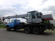 Аренда  автокрана Киев. Автокран  10,  25,  50 тонн